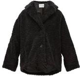 Stand Studio Merilyn Faux-shearling Coat - Womens - Black