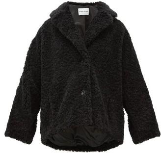 Stand Studio Merilyn Faux-shearling Coat - Black