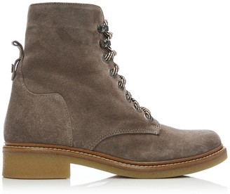 Moda In Pelle Bayla Taupe Suede