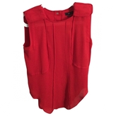 Isabel Marant Red Silk Top