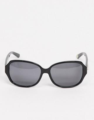 Juicy Couture Juicy Coture square sunglasses in black