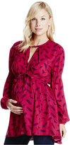 Jessica Simpson Maternity Printed Blouse