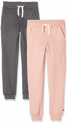 MINYMO Baby_Girl's 2er Pack Sweat Pants/Freizeithose fur Madchen Track Bottoms
