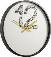 Number 12 clock