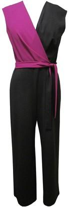 Sandra Darren Colorblock Scuba Jumpsuit
