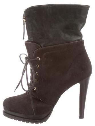 ab03f5147e Ponyhair Ankle Boots