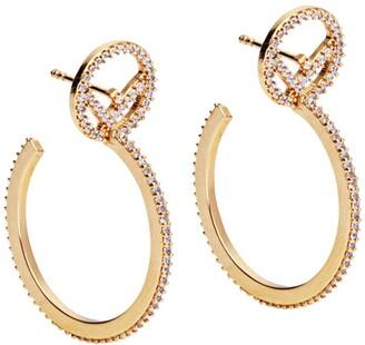 Fendi F is small earrings