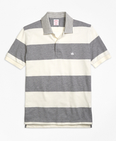 Brooks Brothers Slim Fit Engineered Rugby Stripe Polo Shirt