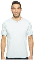 True Grit Heritage Slub Short Sleeve V-Neck Tee w/ Contrast Stitch Men's Clothing