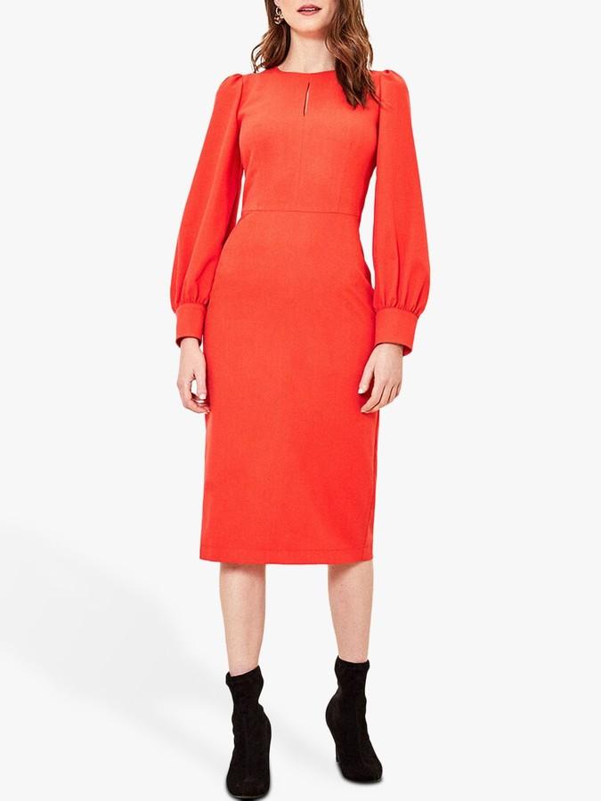 Oasis Crew Neck Midi Dress