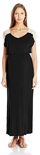 Everly Grey Women's Maternity Abigail Maxi Dress