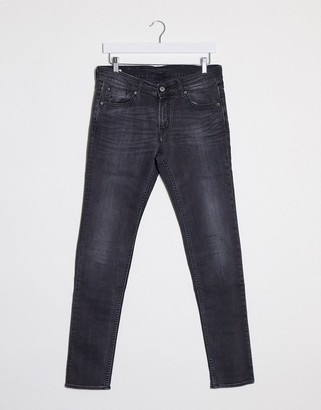 Kings of Indigo Juno mid rise slim fit jeans in grey