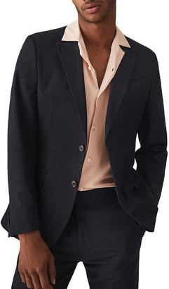 Reiss Proctor Notch Collar Double Button Jacket