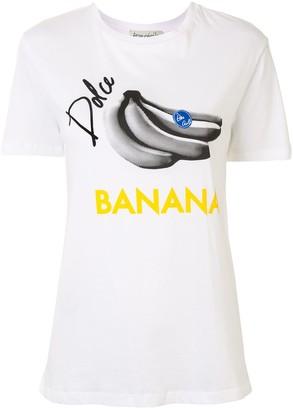 Être Cécile Dolce Banana print T-shirt