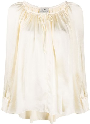 Forte Forte Tied Neck Blouse