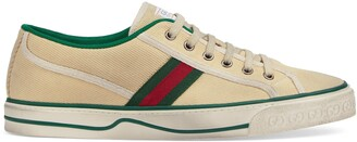 Gucci Men's Disney x Tennis 1977 sneaker with Web