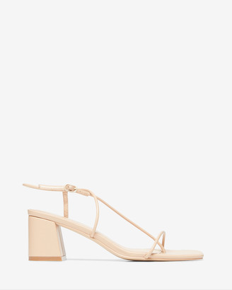 Nelson Made - Women's Neutrals Heeled Sandals - Juliette II - Size One Size, 40 at The Iconic