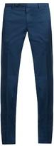 Boglioli Slim-leg Stretch-cotton Trousers