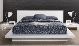 Orren Ellis Montserrat Platform Bed Color: White, Size: California King