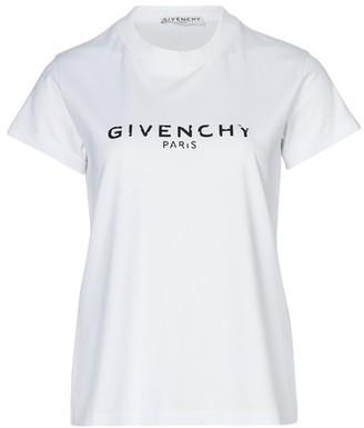 Givenchy Short sleeves Paris t-shirt