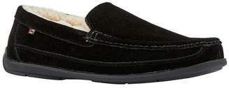 Lamo Lewis Genuine Shearling Lined Moc Toe Slipper
