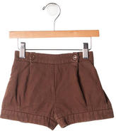 Chloé Girls' Pleated Shorts