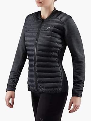 Haglöfs Mimic Hybrid Women's Insulated Jacket, True Black/Magnetite