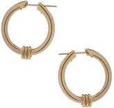 Spinelli Kilcollin Ursa Major Hoop Earrings in Metallics.