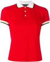 DSQUARED2 contrast stripe polo shirt