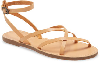 Madewell The Boardwalk Skinny Strap Sandal