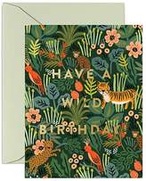 Rifle Paper Co. Rifle Paper Wild Birthday Card