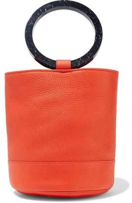 Simon Miller Bonsai Pebbled-leather Bucket Bag