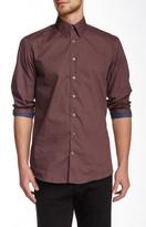 Lindbergh Long Sleeve Tiny Dot Regular Fit Shirt