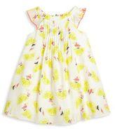 Catimini Toddler's & Little Girl's Lemon & Pelican-Printed Dress