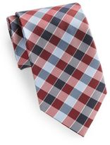 Saks Fifth Avenue Silk Plaid Tie