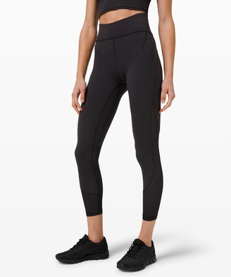 """Lululemon Everlux and Mesh High-Rise Tight 25"""" *Online Only"""