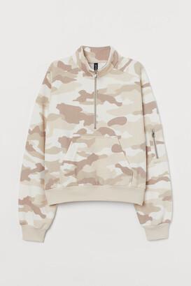 H&M Half-zip Sweatshirt