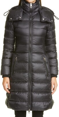 Burberry Danderhall Rib Panel Down Puffer Coat