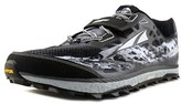 Altra Lone Peak 3.0 Men Round Toe Synthetic Black Running Shoe.