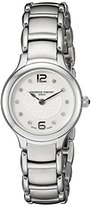Frederique Constant Women's 'Junior' Mother of Pearl Dial Stainless Steel Swiss Quartz Watch FC-200WA1ER6B