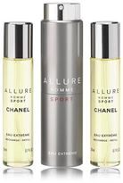 Chanel ALLURE HOMME SPORT EAU EXTRÊME Refillable Travel Spray (20ml x 3)