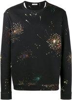 Valentino firework print sweatshirt - men - Cotton/Polyamide - XS