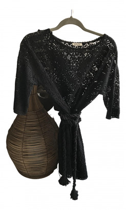 Masscob Black Cotton Dresses