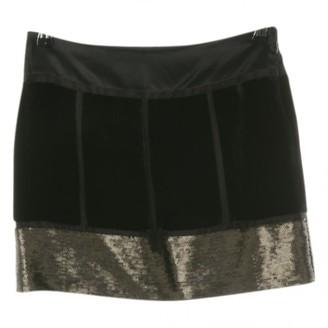 Diane von Furstenberg Black Linen Skirt for Women