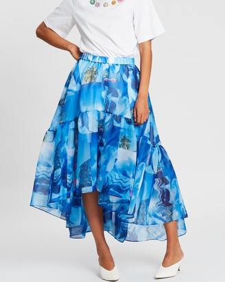 Romance Was Born Petit Palais Tier Skirt