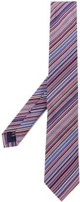 Paul Smith Narrow Striped Silk Tie