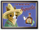 "Art.com Chi Wow Wow Tequila"" Framed Art Print by Brian Rubenacker"
