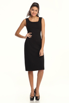 Maggy London Black Scuba Dress