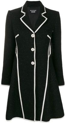 Moschino textured tweed jacket