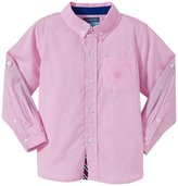 Andy & Evan Checkmarks The Spot Shirt (Toddler/Kids) - Pink 5 Years